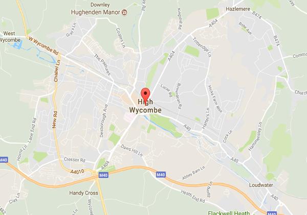 High Wycombe Mac Repair Service Area